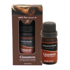 10ml Cinnamon essential oil brown glass bottle